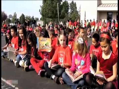 Temecula elementary school celebrates reading