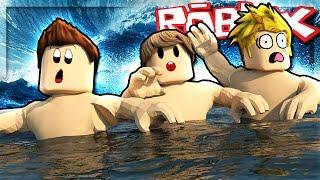 Roblox Adventures - I CAN'T SWIM! (Roblox Flood Escape)