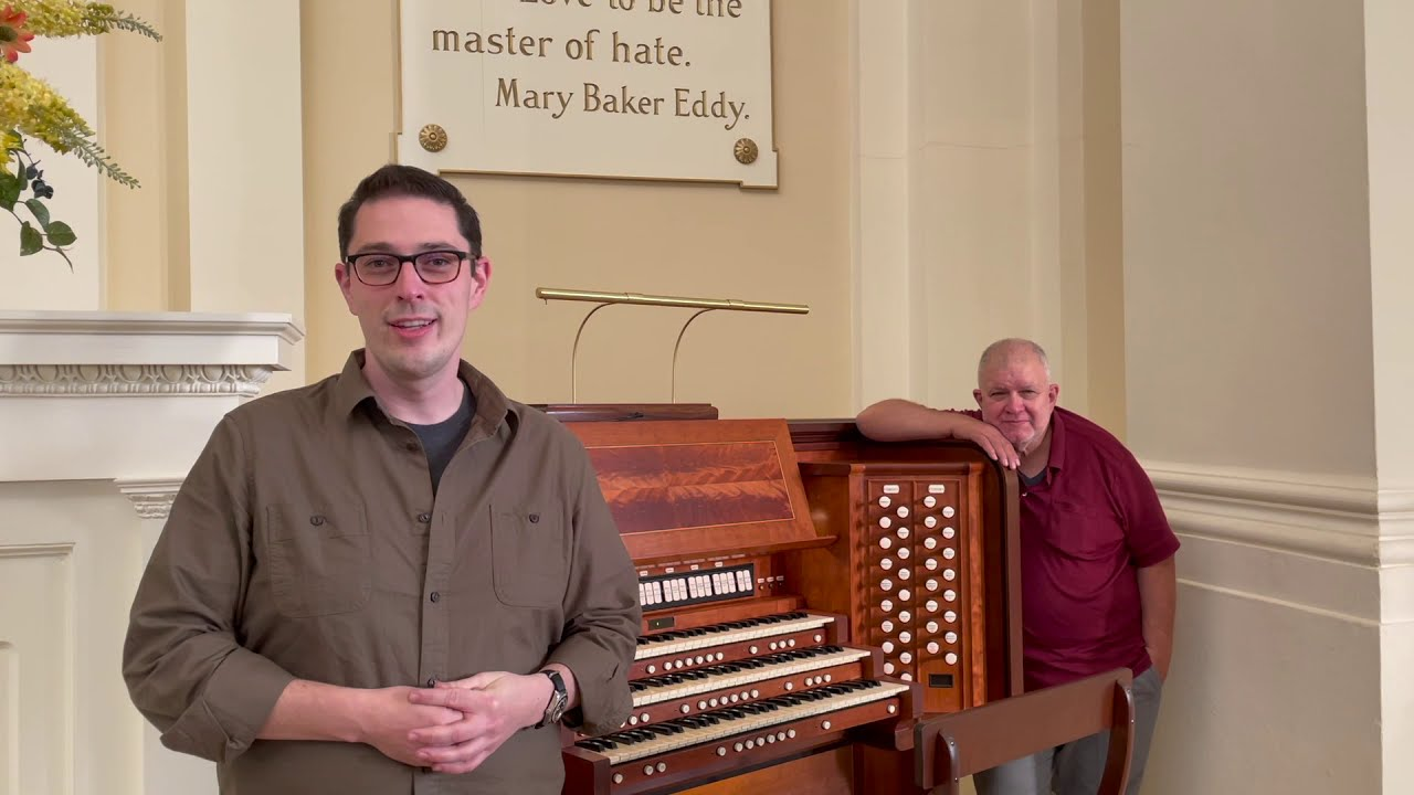 Manuel Rosales discusses the Organ Console
