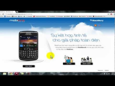 hướng dẫn đăng ký BIS mobifone cho blackberry.mp4