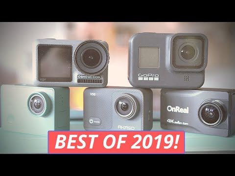 The Best 5 Action Cameras Of 2019!