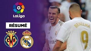 Résumé : Gareth Bale en sauveur du Real Madrid contre Villarreal