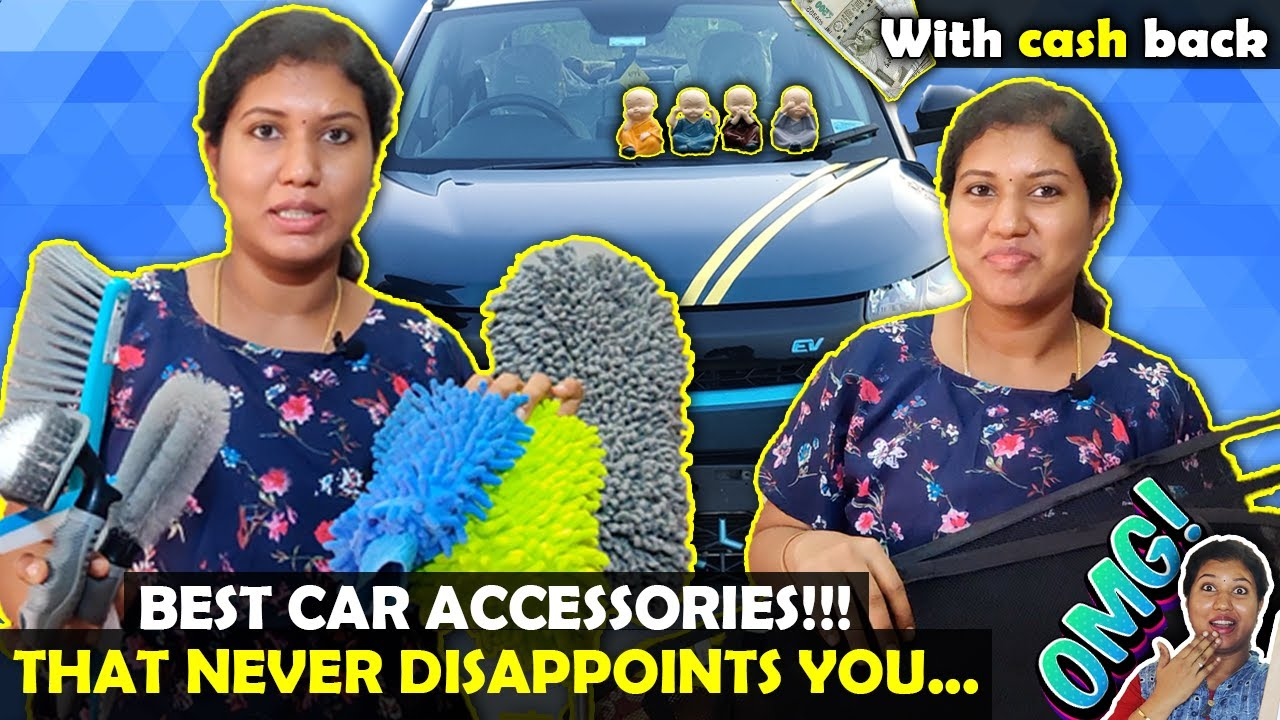 car accessories under budget// useful product that never disappoints u//Amazon products😍