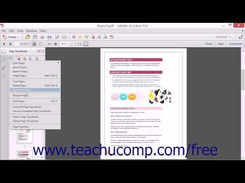 changing-the-page-number-display---adobe-acrobat-xi-training-tutorial-course