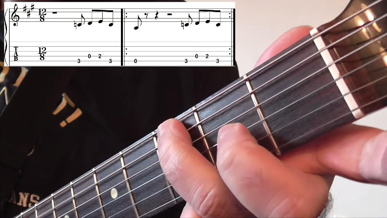 Five Classic Blues Guitar Riffs Youtube