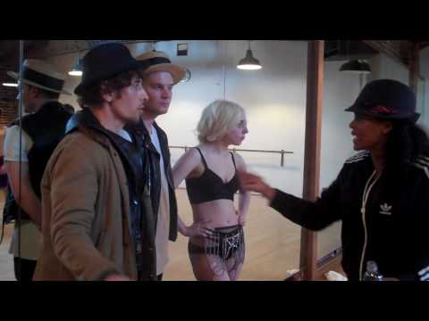 Lady Gaga - Alejandro Rehearsal (Laurie ann talks to director Steven Klein)