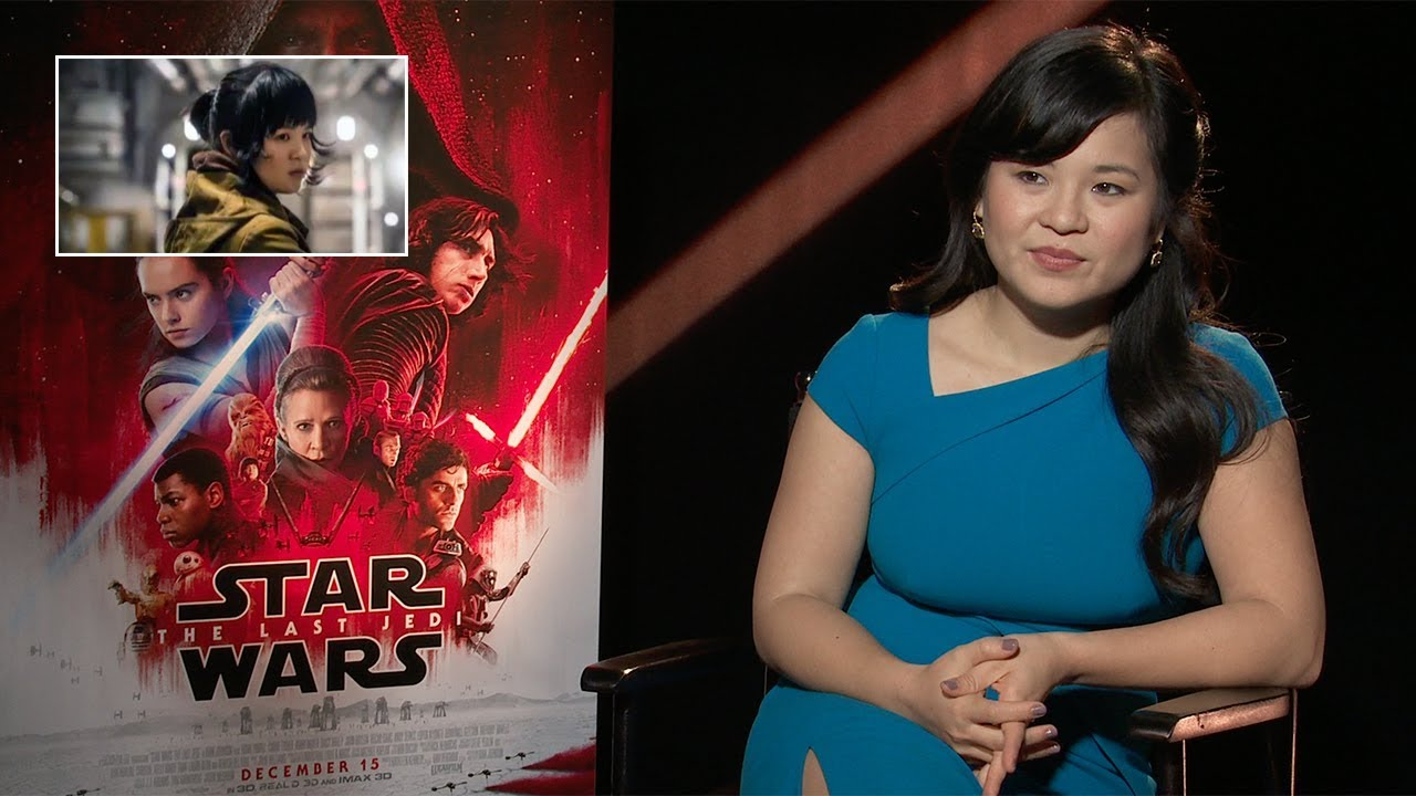 Star Wars Breakout Kelly Marie Tran on The Last Jedi and Kylo Ren's Shirtless Scene