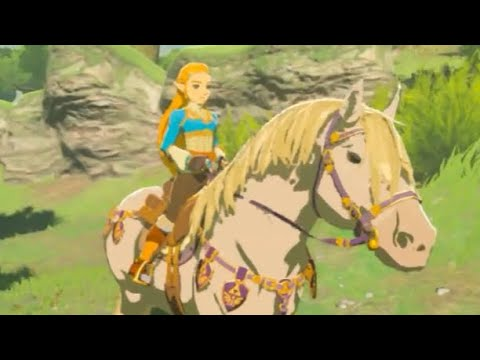 Zelda Breath of the Wild to get AMAZING new character update