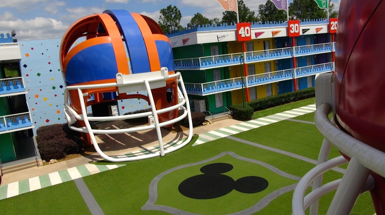 5084c2acc758 Disney s All Star Sports Resort 2014 Tour and Overview - Walt Disney World  - YouTube