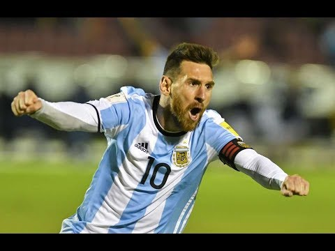 Download Lionel Messi Hat Trick vs Ecuador [Ecuador vs Argentina 1-3] 11/10/2017 by SportsHunkTV