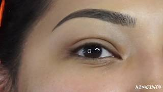 BEAUTY HACK FOR EYEBROWS HOWTO: SHAPE, TWEEZE & SHAVE - Alexisjayda
