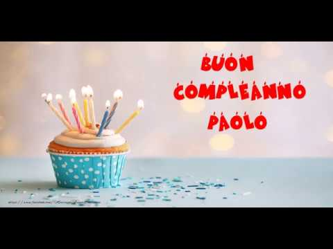 Buon Compleanno Paolo!