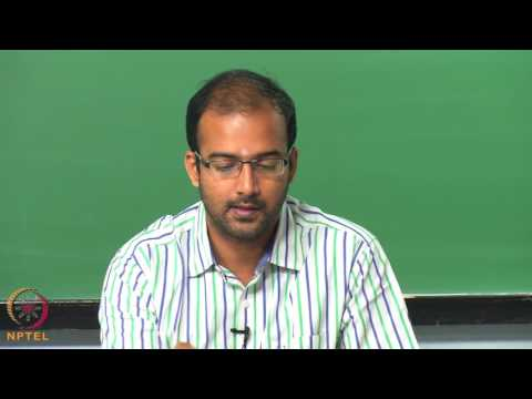 Micro and Nano scale  energy transport-Week05lec01