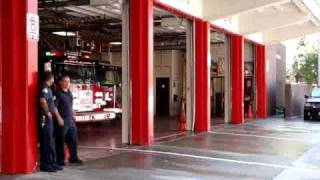 Chicago Fire Department Truck 3 And Engine 42.