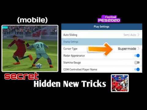 5 TRICKS & TIPS Must Need In PES 2019 MOBILE ( android/ios )