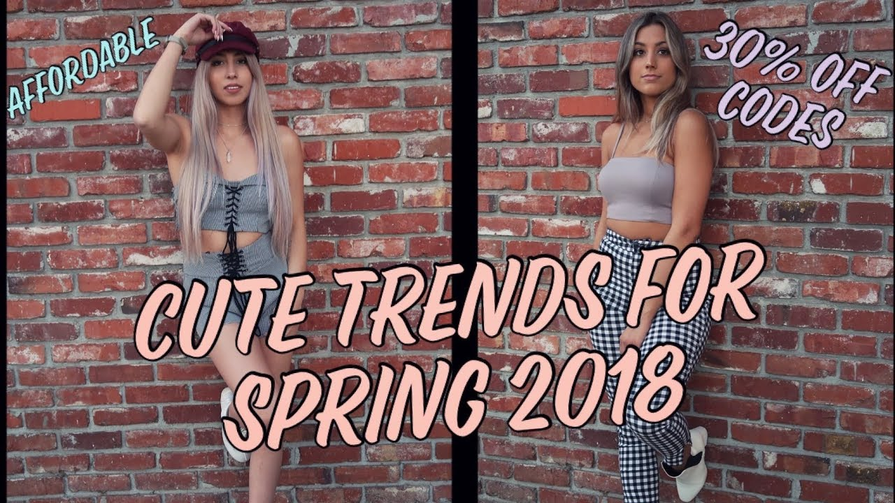 [VIDEO] - SPRING LOOKBOOK // (AFFORDABLE) OUTFIT IDEAS! 6
