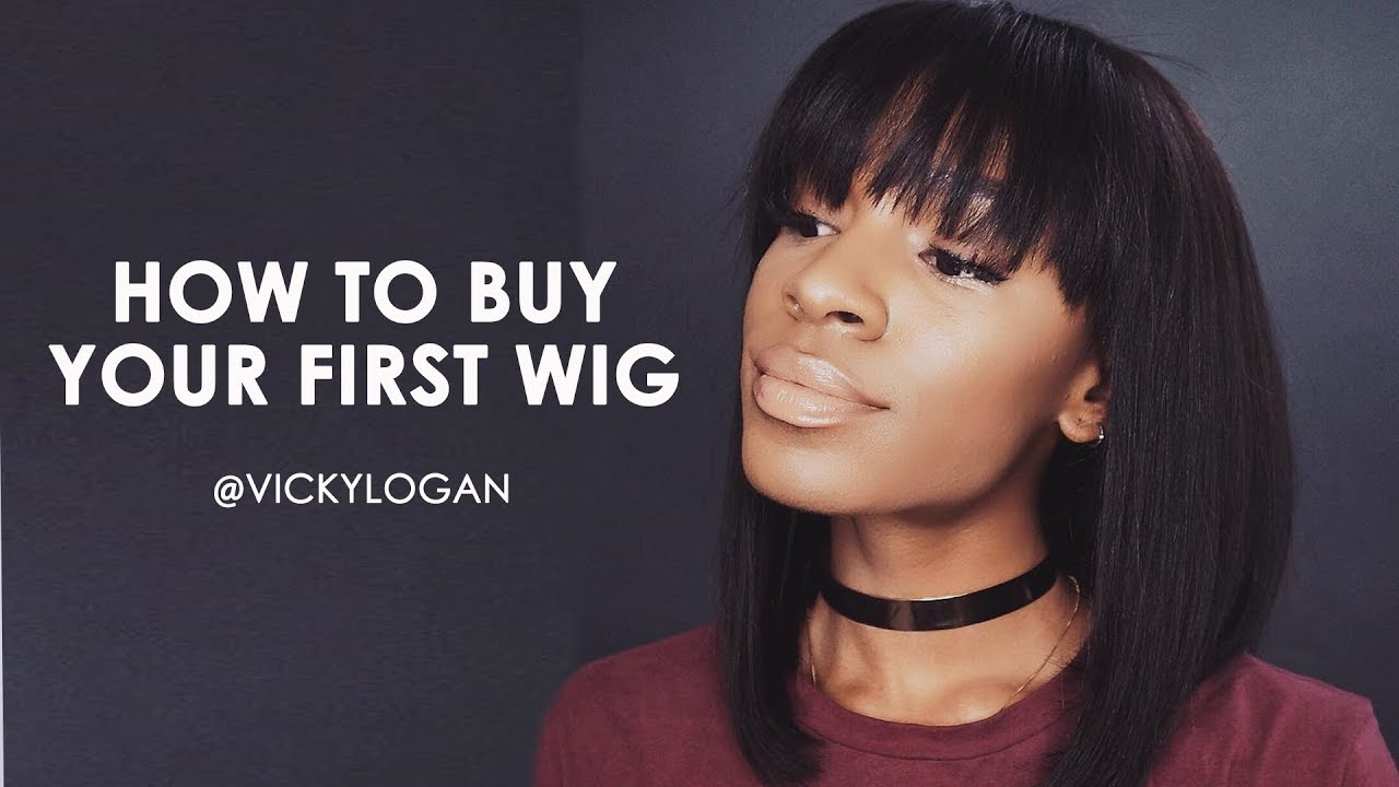 How to Buy Your First Wig! The Best Lace Wig for Beginners ▸ VICKYLOGAN b8d7be8eca59