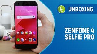 Zenfone 4 Selfie Pro: unboxing e primeiras impressões | TudoCelular.com