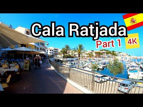⁴ᴷ CALA RAJADA walking tour 🇪🇸 Mallorca, majorca Spain (Part 1) 4K