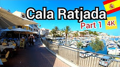 ⁴ᴷ CALA RAJADA walking tour 🇪🇸 Mallorca, majorca Spain (Part 1) 4K