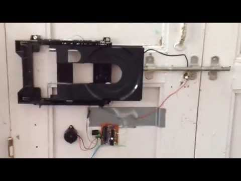 Electronic Door Lock : Things you can make using a old DVD/CD Drive