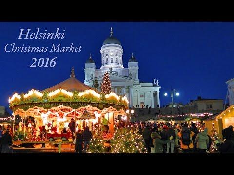 Helsinki Christmas Market 2016 (Tuomaan Markkinat) Finland