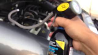 DIY: Recharge a/c on your Car (2004 ford ranger)