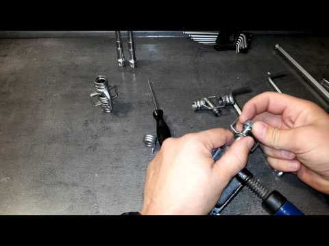 Crank Brothers EggBeater Reparation Of Inner Wings And Coil Spring