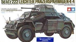in box review tamiya sdkfz 222
