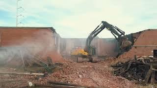 American Cigar Demolition, Norfolk, VA.  East Coast Demolition