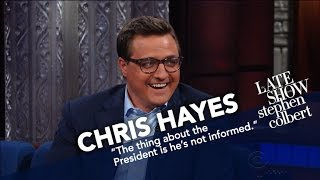 Chris Hayes Senses Trump Lacks Something Called