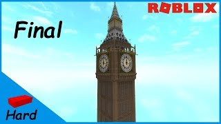 ROBLOX STUDIO SPEED BUILD / Big Ben - Elizabeth Tower #3