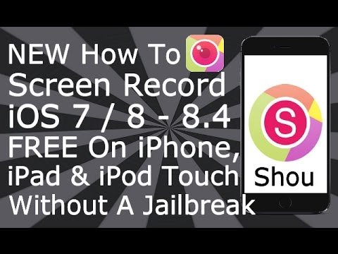 how to record iphone screen free how to screen record on ios 7 8 8 4 1 free no 7570