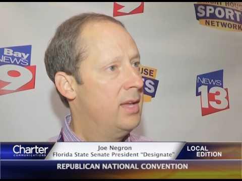 "Joe Negron-Florida State Senate President ""Designate"""