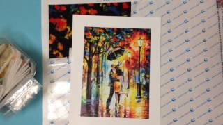 DIY Diamonds Painting Deutsch, Diamanten Bild bastelset von Aliexpress