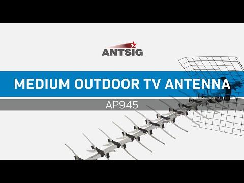 ANTSIG : How To Assemble AP945 UHF Antenna