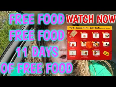FREE FOOD WATCH NOW OMG 😲 😍