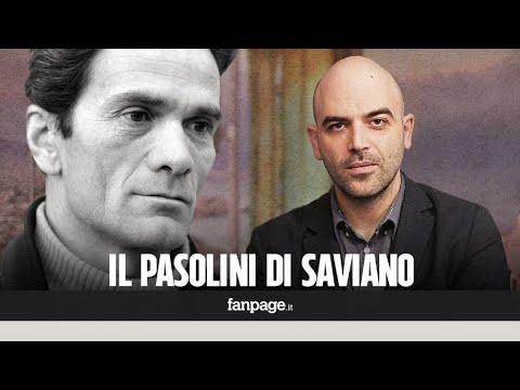 Roberto Saviano: 'Vi racconto il mio Pier Paolo Pasolini, quello sconfitto che nessuno ricorda'