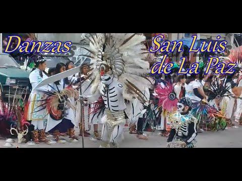 Danzas Tradicionales San Luis De La Paz, Guanajuato, México (16vo Encuentro 2019)