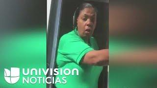 Mexicana agredida por una empleada de McDonalds dice que la actitud racista es culpa de Trump