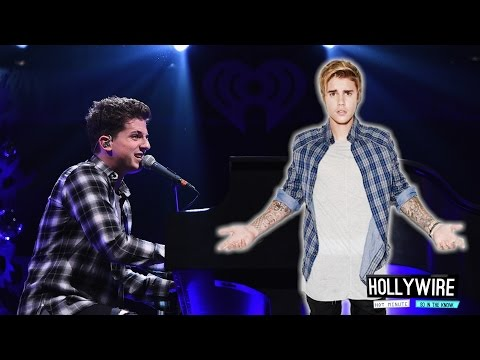 Charlie Puth Apologizes For Justin Bieber Joke! | Hollywire