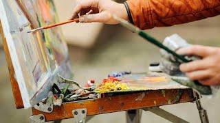 Искусство спасает петербургский художник победил коронавирус рисуя портреты