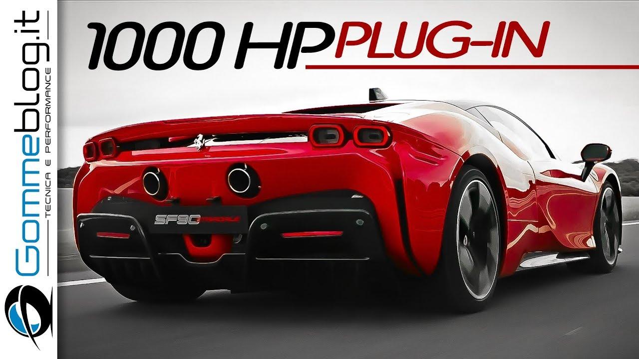 Ferrari Sf90 Stradale 1000 Hp Plug In Hybrid Youtube