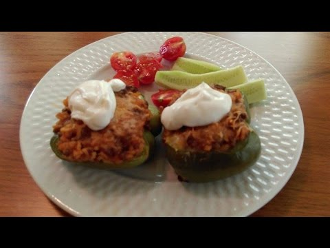 Stuffed Peppers  How To Make Stuffed Bell Peppers   The Hillbilly Kitchen