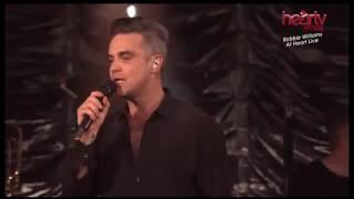 Robbie Williams  Live @  Heart Radio  2016