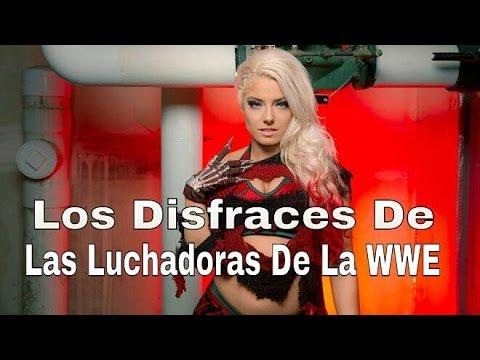 Los Disfraces De Las Luchadoras De La WWE - Especial De Hallowen