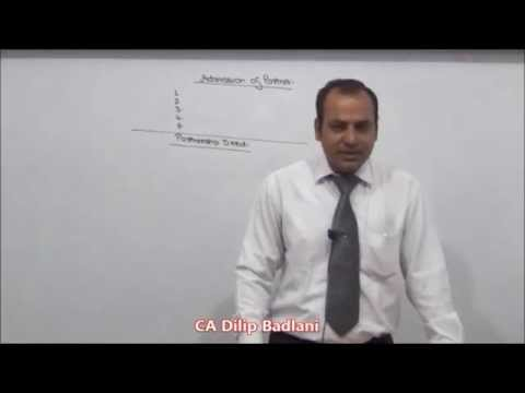 Accounts - Partnership Account - Treatment of Goodwill