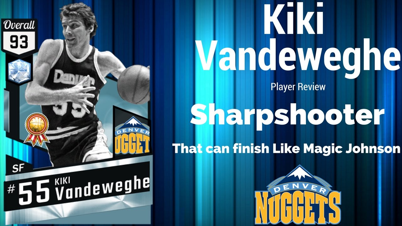 Nba2k17 Diamond Kiki Vandeweghe Player Review
