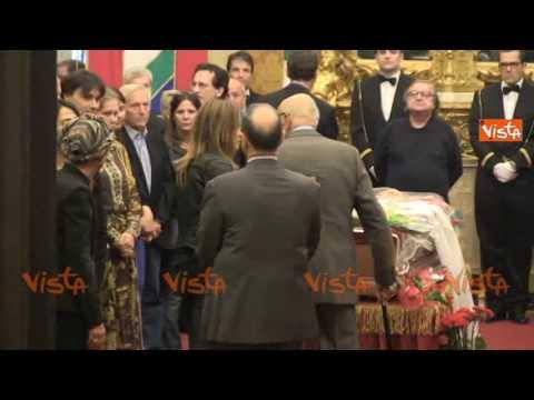 Pannella, l'omaggio di Giorgio Napolitano