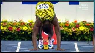 Usain Bolt Moscow 2013 100M Men Heat 7 IAAF World Championship
